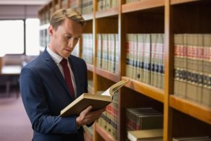 Lawyer reading the expunged criminal case