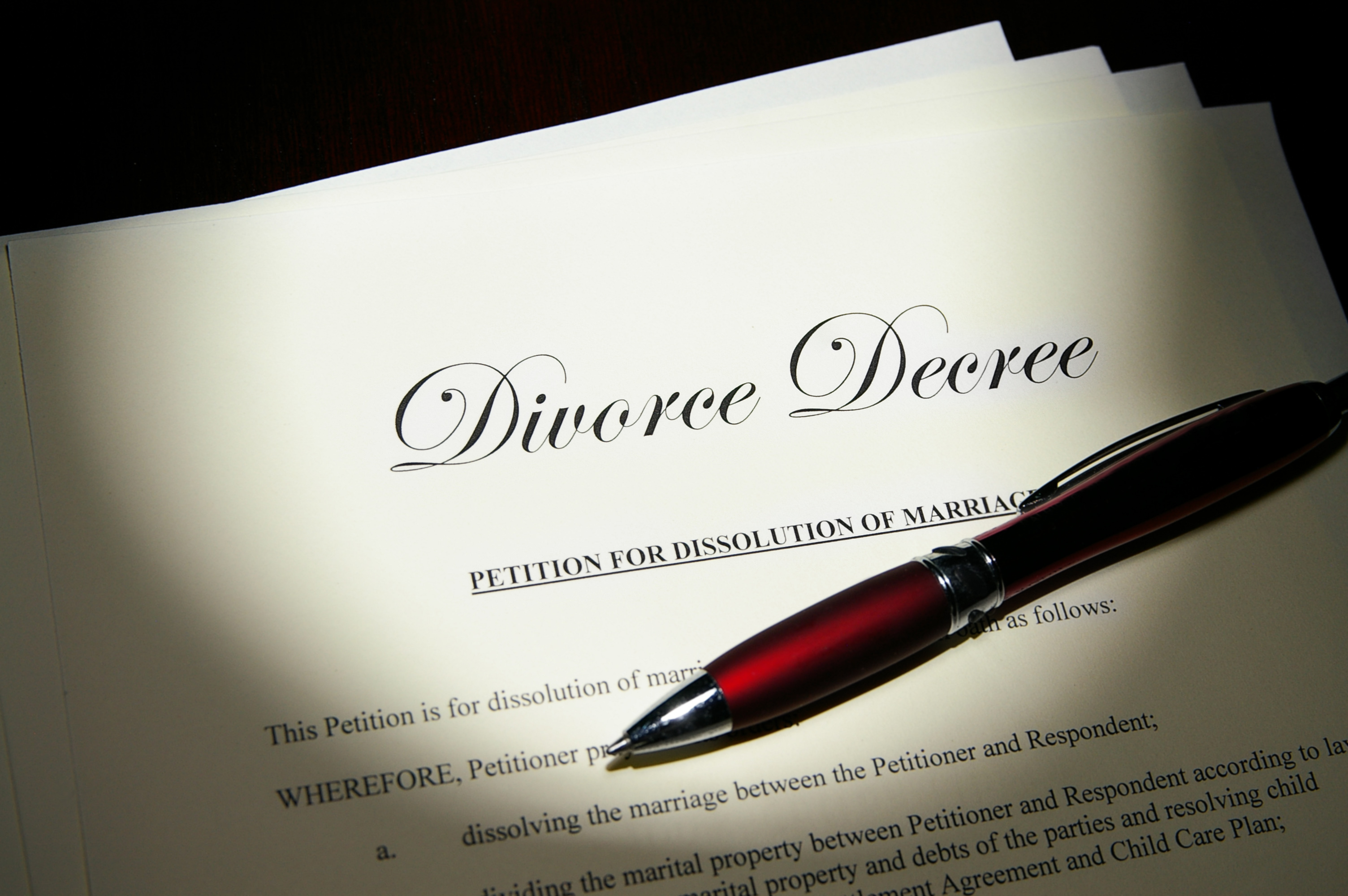 Untying the Knot: Setting Objectives in Divorce Settlement